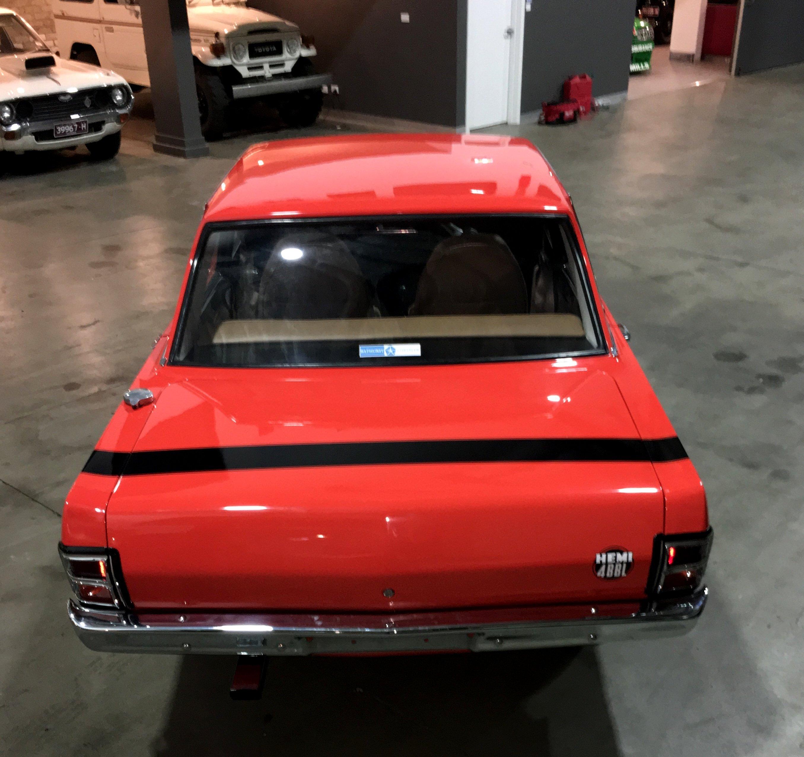 1970 Chrysler Valiant Pacer VG E34 Valiant Pacer