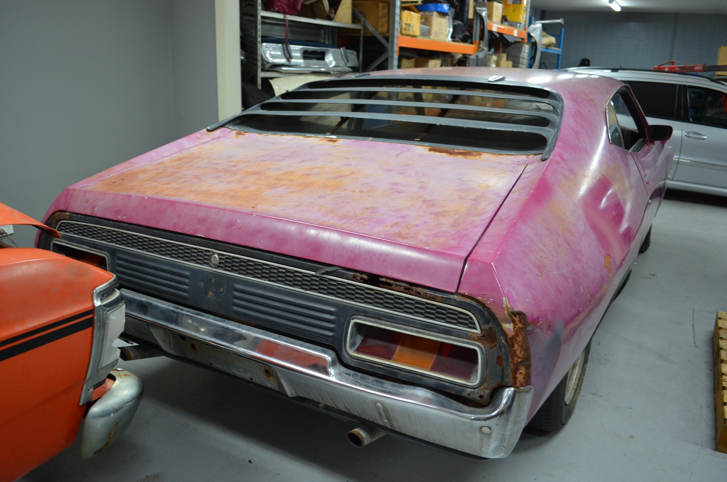 Barn Find 1973 Ford XA GT RPO Coupe