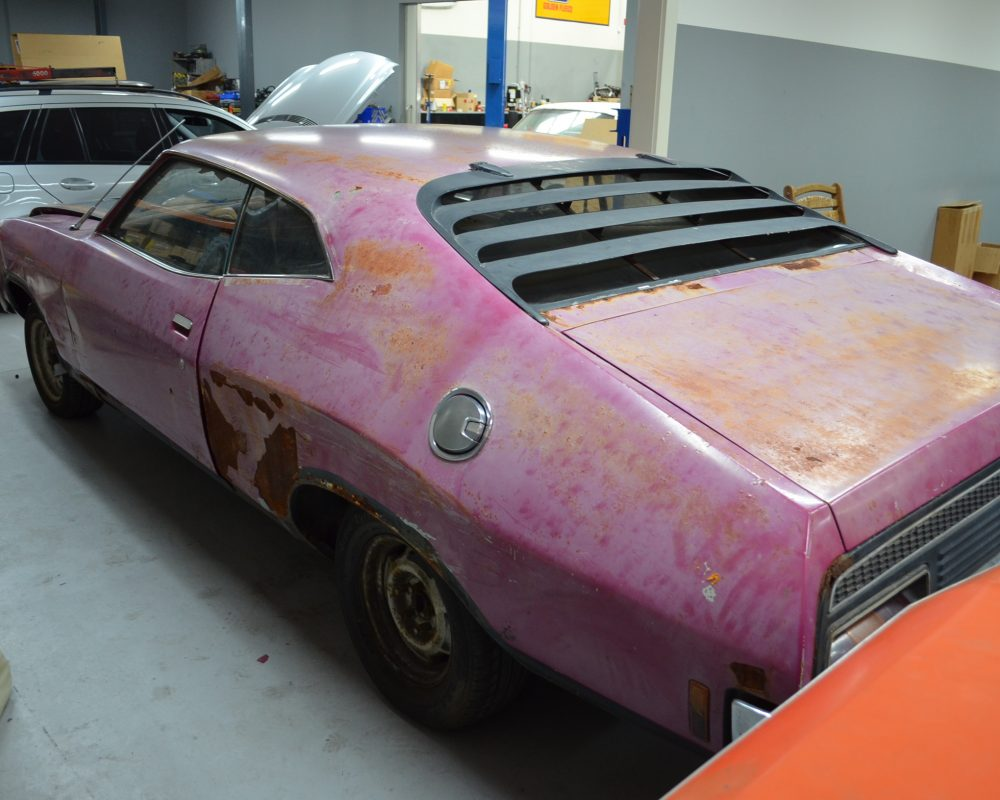 Barn Find 1973 Ford Xa Gt Rpo Coupe Muscle Car Sales
