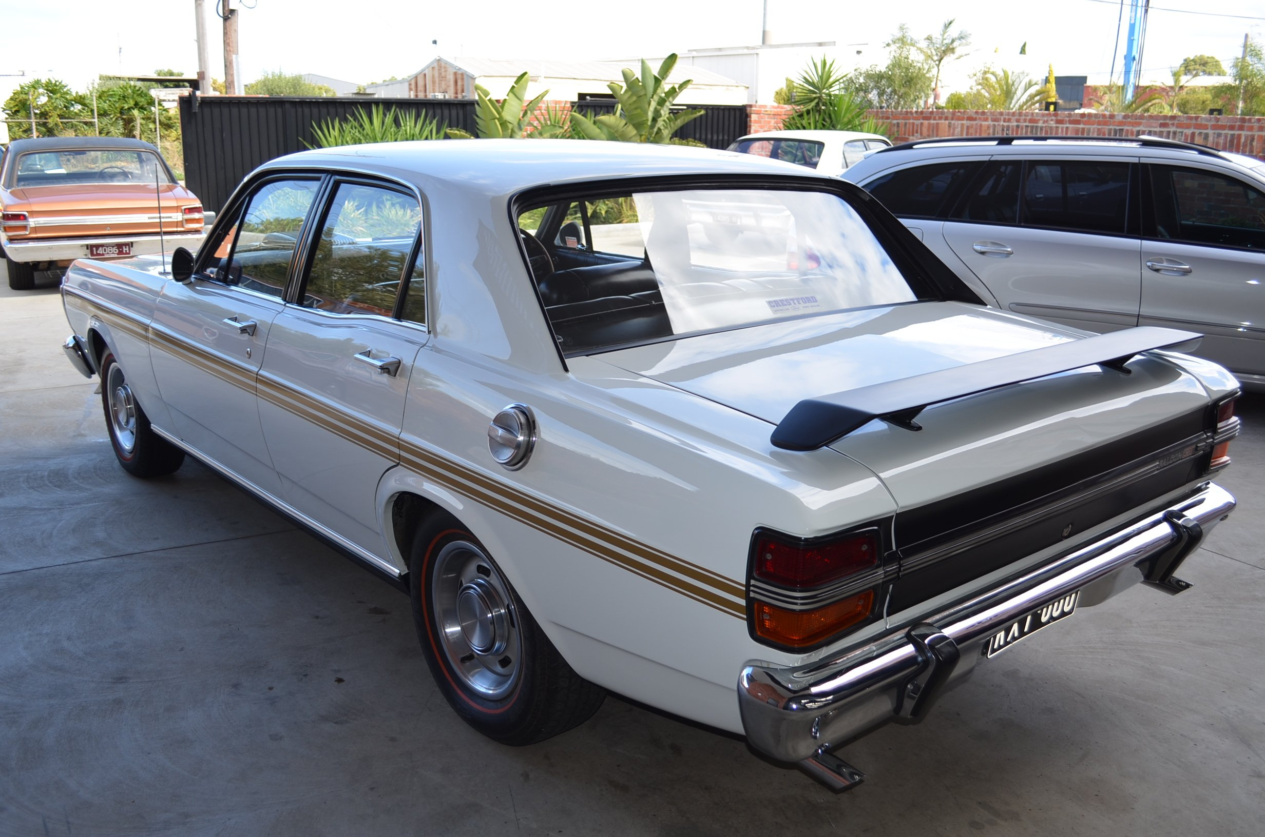 Ford Falcon Xy Phase  Gtho Travelled  Miles Since New