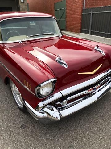 Blown 57 Chevy Belair Custom Muscle Car Salesmuscle Car Sales