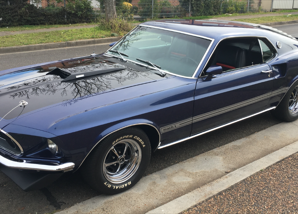 concourse winning 1969 mach 1 ford mustang muscle car. Black Bedroom Furniture Sets. Home Design Ideas