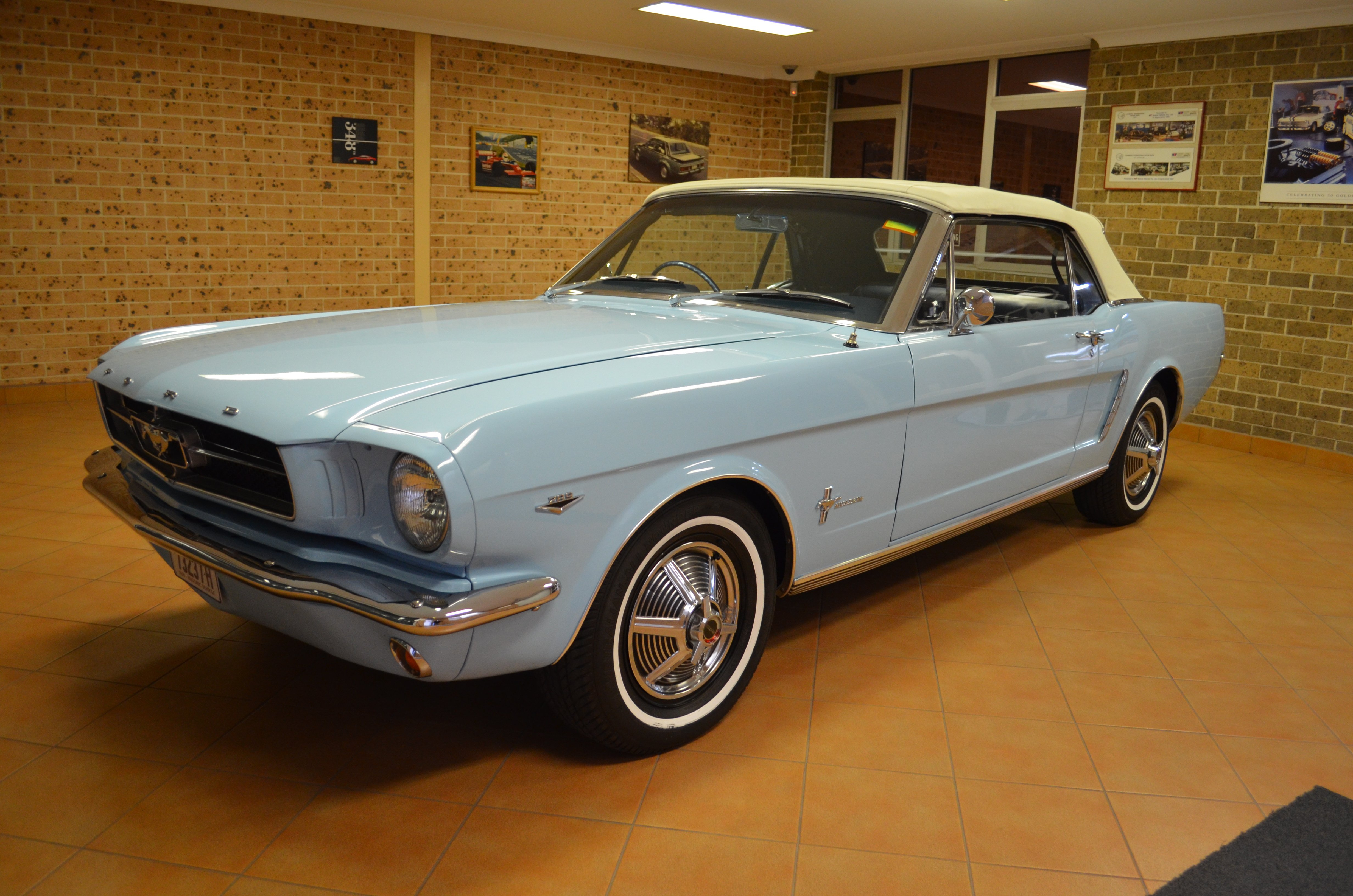 1964 1 2 Ford Mustang Convertible D Code 33266 Miles Muscle